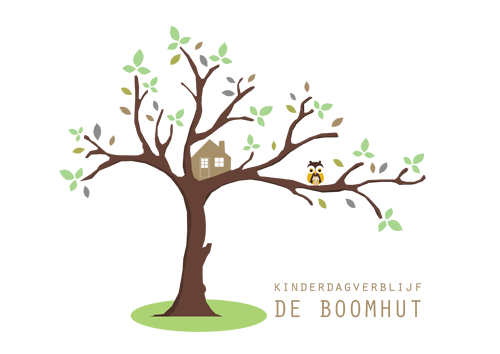 logo kinderdagverblijf de boomhut